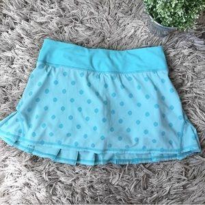 Lululemon athletica pace setter run shorts / skirt